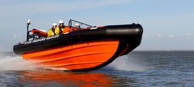 Ryde Inshore Rescue's New 8 Metre RIBCRAFT Complete with Icom Communication Equipment