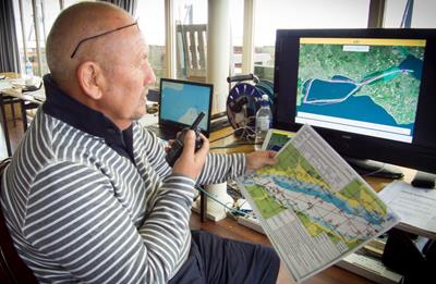 Icom LTE Radio System Providing Clear Comms Over a Large Area at Cowes-Torquay Powerboat Race
