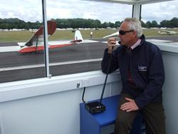 New Command & Control Centre featuring Icom IC-A110 Ground to Air Transceiver for Lasham Gliding Centre.