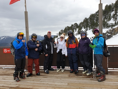 School Ski Trip To Andorra Uses Icom LTE Radios to Stay in Touch