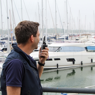 Icom Licence Free Radio Solution Chosen By Yacht Havens Group