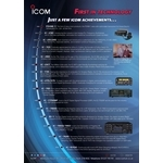 Icom Technical History Poster
