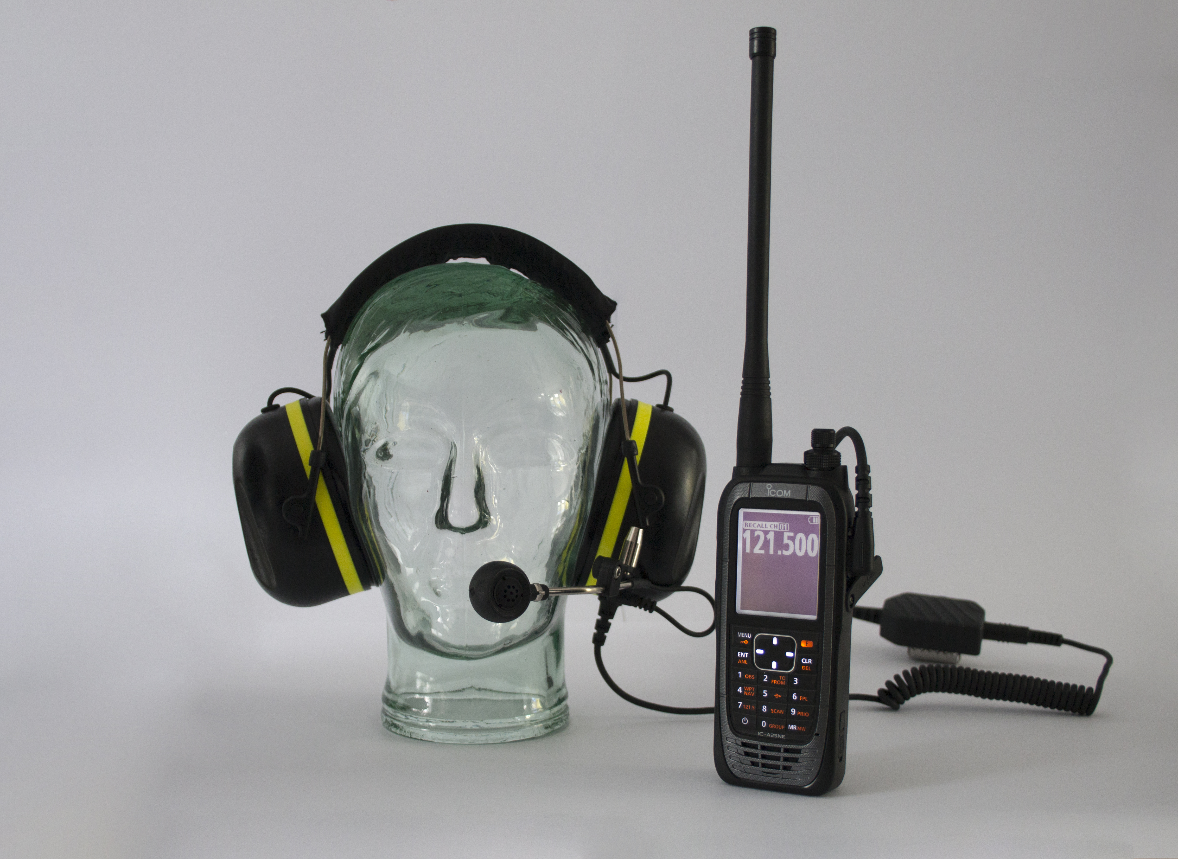 SWATCOM A-KABEL Aviation Headset and PTT