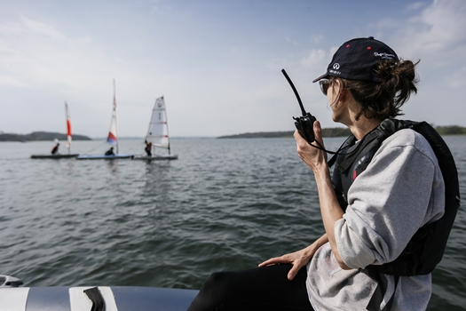 VHF Radio Advice For RYA Onboard Trainers