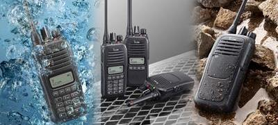 What do IP Specification for Water/Dust Resistance mean for Two Way Radios?