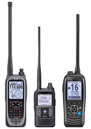 <b>What is the name of Icom&#39;s new radio operating over LTE/4G network?</b>