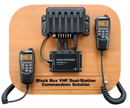 Black Box VHF Dual Station Commandmic Solution
