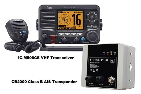 IC-M506GE (Transponder Version)