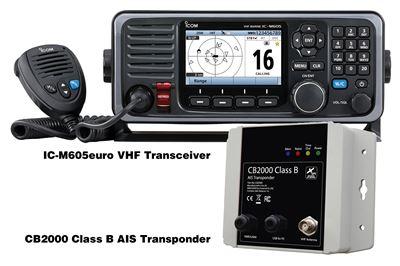 IC-M605EURO (Transponder Version)