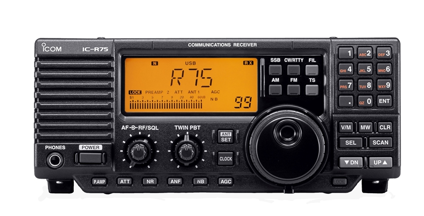 IC-R75 : Receiver / Scanner Base Station - Icom UK