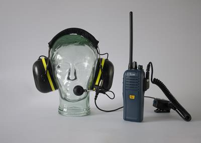 SWATCOM A-KABEL ATEX Headset and PTT