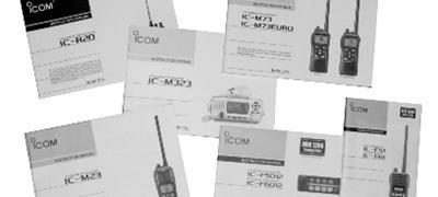 Icom Manuals & Software Downloads