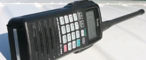 Handheld Aviation Radio